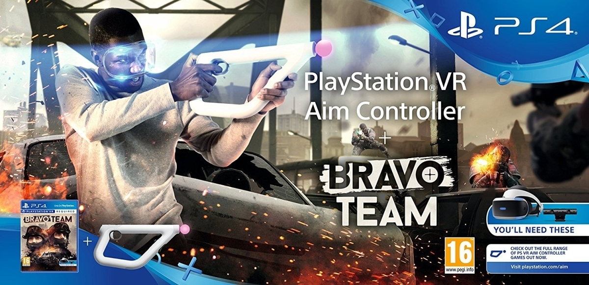 Bravo Team VR PL + Aim Controller (PS4)